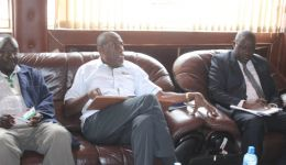 Meeting with Siaya Governor Cornel Rasanga