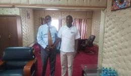 Meeting with Kajiado Governor Joseph Ole Lenku